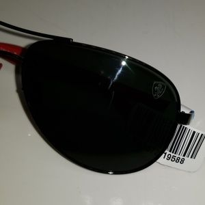 Ray-Ban Accessories - Ray Ban Sunglasses RB 8313 M F001/71 black red Scu
